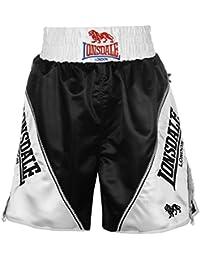 Lonsdale Hombre Logo Boxing Pantalones Cortos Shorts De Boxeo
