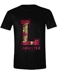 Game of Thrones - Lannister L Hommes T-Shirt - Noir
