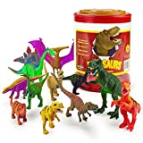 Large Size Dinosaur Assortment With Stor...