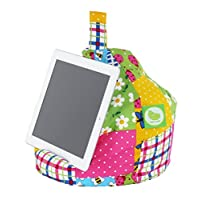 Bean Lazy iPad, eReader & Book Mini Bean Bag Fits All tablets and eReaders - Patchwork
