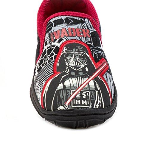 Star Wars Kids schwarz & rot Full Hausschuhe Mehrfarbig