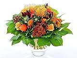 Blumenversand - Blumenstrauß versenden - zum Geburtstag - goldener Herbst - mit Gratis - Grußkarte bundesweit versenden