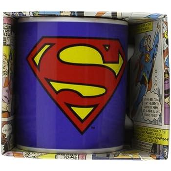 Superman Tazza Colazione, Ceramica, Multicolor, Unica