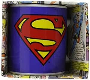 Superman Mug, Logo