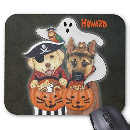 erd, and Parrot In Costumes Mouse Pad Rectangle Non-Slip Rubber Personalized Mousepad Gaming Mouse Pads ()