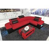Das Moderne Sofa Bergamo mit Stoffbezug in der L Form