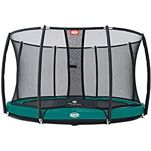 Trampoline BERG Elite+ InGround Green 380 + Safety Net T-series 380