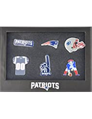 NEW ENGLAND Patriots 6Pinset dans boîte cadeau–NFL Football Supporter Boutique