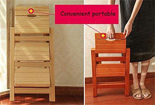 Scaletta In Legno Pieghevole : Dldl scala pieghevole in legno massello sedia pieghevole scaletta
