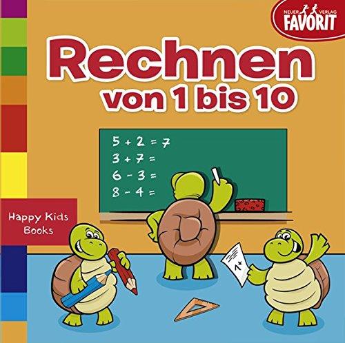 Rechnen von 1-10: Happy Kids Books