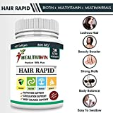Healthawin Hair Rapid Biotin 10000 Mcg Hair Skin & Nails Supplement For Unisex