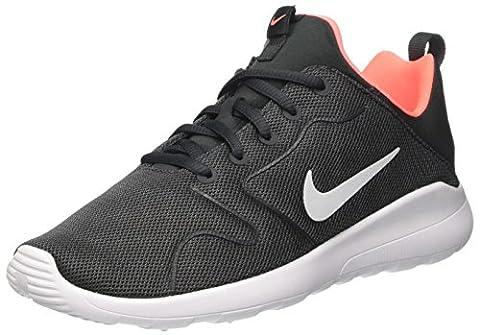 Nike Kinder und Jugendliche Kaishi 2.0 (GS) Laufschuhe, Mehrfarbig (Anthracite/Pure Platinum-Lava Glow-White), 38