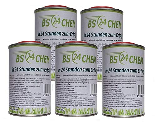 BS24CHEM ® 5 Kg Karbid für viele Anwendungen geeignet.Seit 2009 im Einsatz *Gebrauchsfertig* (nur 5{37c1efd935e6cfe08fd06dbfbb7298b99027b09c747db4415073eb17bb871723} Staubanteil) Sehr hohe Wirkungsdauer EU als Marke eingetragen und zugelassen.(Körnung 6-18)(5 Kg)