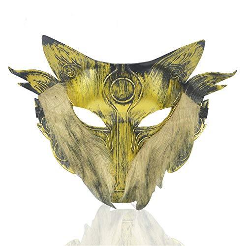 LYFWL Halloween-Party Tierleistung Terror Maske Bar Maske Mann -