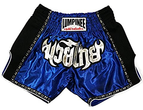 Usa Costume Pour Kid - lumpinee Bleu de boxe Muay Thai Short