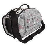 Zhuotop Transporttasche für Hunde und Katzen, atmungsaktiv, faltbar, tragbar