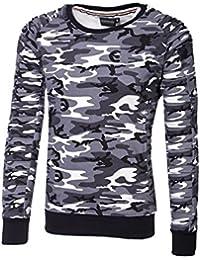 MT Styles sweat shirt contrasté homme SW-5206