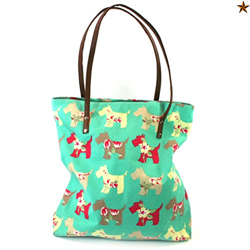 Black Ginger , Borsa da spiaggia  Bambine e ragazze Donna Scotty Dog