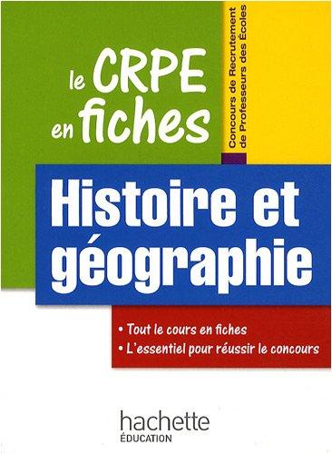 Histoire et géographie par Laurent Bonnet