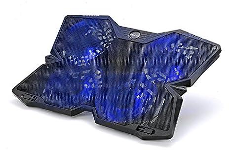 Jelly Comb Refroidisseur PC Portable avec 4 Ventilateurs 130 mm