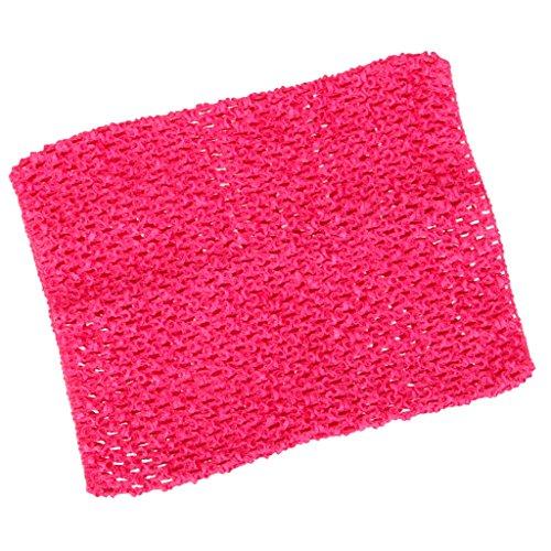 Kleid Tube Kostüm - Sharplace Mädchen Tube-Top Strapless Top Bustier Elastische Band Stirnband Für Tutu Kleid Fotoshooting Kostüm - rosarot