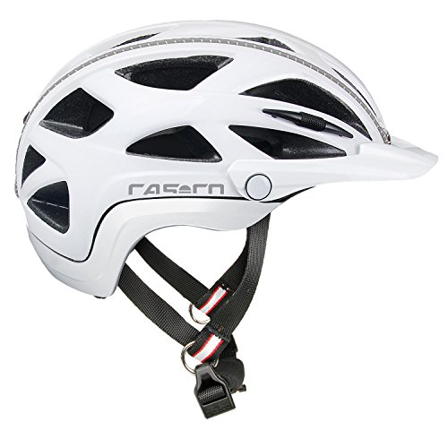 Casco Activ 2U Fahrradhelm, Weiß, S
