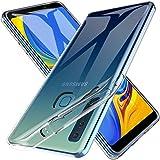 LK Coque pour Samsung Galaxy A9 2018, Coque Souple Flexible Silicone Housse TPU Gel pour Samsung Galaxy A9 2018 - Clair