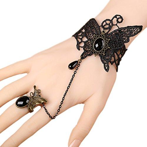 tiempo-pawnshop-gotico-retro-mariposa-elegante-de-encaje-negro-wrap-pulsera