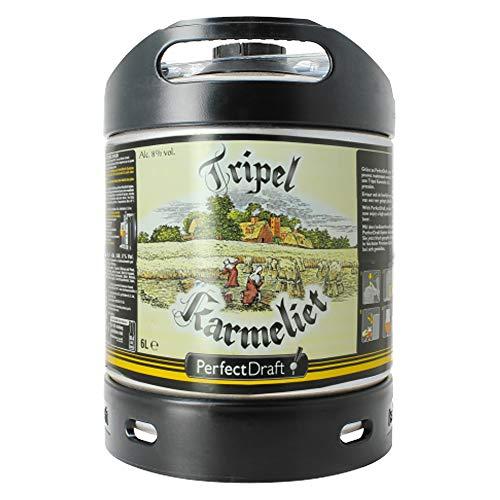Fût bière Perfectdraft 6L Tripel Karmeliet (dont 5 euros récupérable)