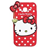4 Season 3D Designer Hello Kitty Back Cover For SAMSUNG GALAXY J5 (2016) - Red