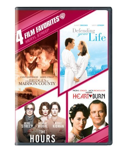 4 Film Favorites: Meryl Streep (The Bridges of Madison County, Defending Your Life, The Hours, HEARTBURN) by Various