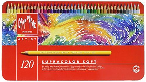 Caran d'ache supracolor scatola 120 pastelli