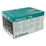 Omnican Insulinspr.1 Ml U100 M.Kan.0,30X12 mm, 100 St
