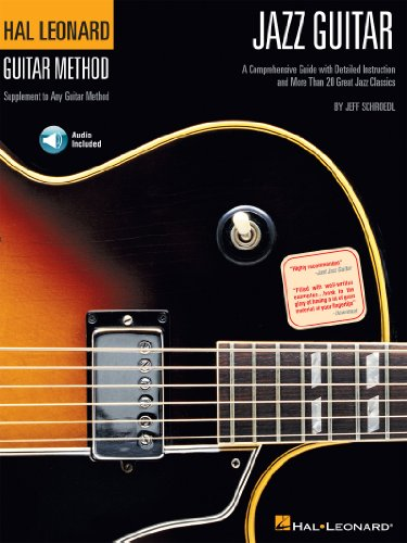 Hal Leonard Guitar Method - Jazz Guitar (with Audio): A Comprehensive Guide with Detailed Instruction and Over 40 Great Jazz Classics (English Edition) 40 Audio