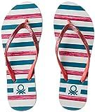 United Colors of Benetton Women's Pink Flip-Flops - 3 UK/India (37 EU)