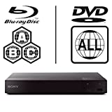 SONY BDP-S6500 4k Upscaling - 2D/3D - Wi-Fi - Multizone All Region Code Free DVD Blu Ray Player - 2M HDMI Lead Included - 100~240V 50/60Hz Worldwide Voltage AUTO - Comes with the EU Power Supply provided by MultiSystem-Electronics