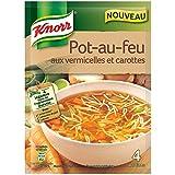 Knorr Soupe Pot-au-Feu aux Vermicelles et Carottes Pour 4 Portions 55 g - Lot de 7