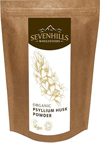 Sevenhills Wholefoods Organic Raw Psyllium Husk Powder 500g