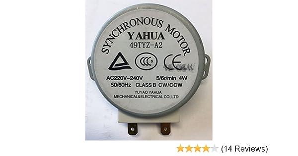 Drehtellermotor 4W gorenje 104213 Yahua 49TYZ-A2 für Mikrowelle