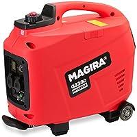 MAGIRA 3,3kW Digitaler Inverter Stromerzeuger, benzinbetriebener Generator : 800W (0,8kW) - 7000W (7,0kW)