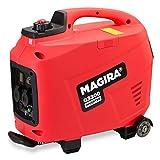 MAGIRA Inverter-Stromerzeuger 3300W Leiser Benzin Strom-Generator 3,3kW mit...