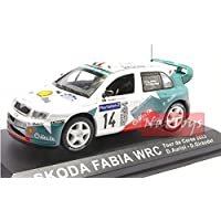 Skoda Octavia WRC Auriol Giraudet Rally Montecarlo 2003 MODELLINO DIE CAST 1:43