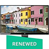 (CERTIFIED REFURBISHED) HP 21.5 inch (54.6 cm) LED Monitor - Full HD, IPS Panel with VGA, HDMI Ports - 22W (Black)