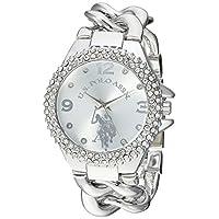 ffcc9dd4f  U.S. Polo Assn. للنساء من سبيكة معدنية و الكوارتز ساعة كاجوال ، اللون