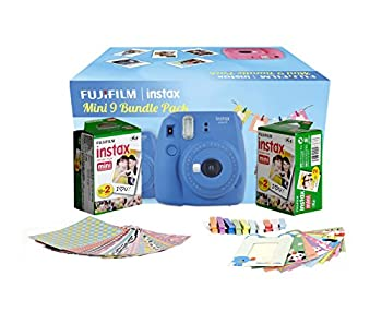 Fujifilm Instax Mini 9 Kamera Cobalt Blau 21