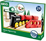 BRIO BRI-33028 Rail Classic 8 Figure Set