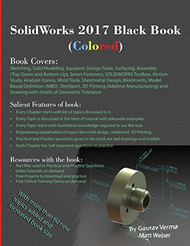 Solidworks 2017 Black Book (Colored) by Gaurav Verma (2016-11-26)