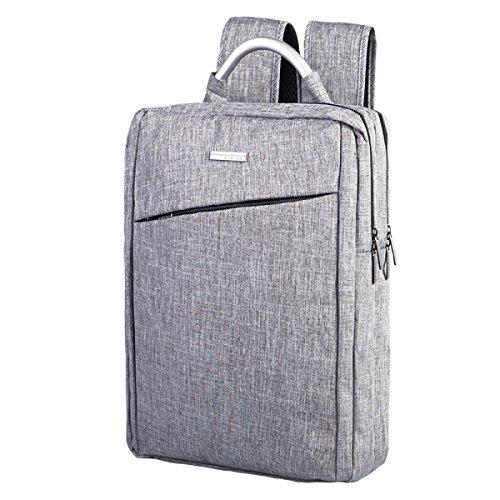 Männer Geschäftsleben Notebook Computer Rucksack Wasserdicht Schultasche Einfach Mode Umhängetasche Lässig Sporttasche Aluminium Henkel,C1