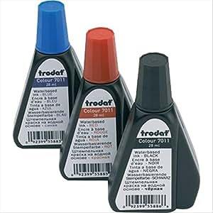 Trodat tr7810 tinte f r stempel 7011 for Amazon stempel
