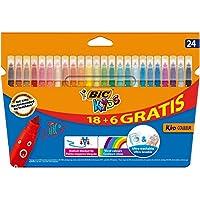 BIC Kids Kid Couluer - Pack de 24 rotuladores para colorear